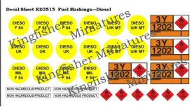 Fuel Markings - Diesel